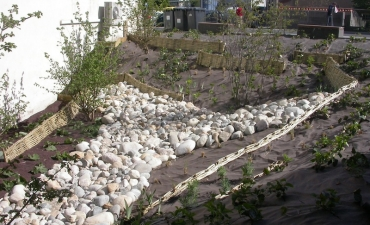 Aménagement urbain et retenue de berges pour la mairie de Chamalières