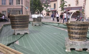 Paniers géants à Moulins