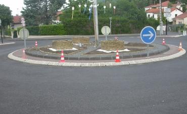 Rond point de Romagnat